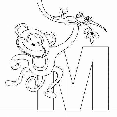 Coloring Alphabet Letter Printable