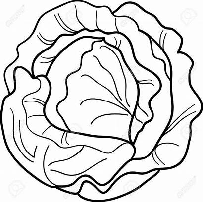 Coloring Pages Vegetable Cartoon