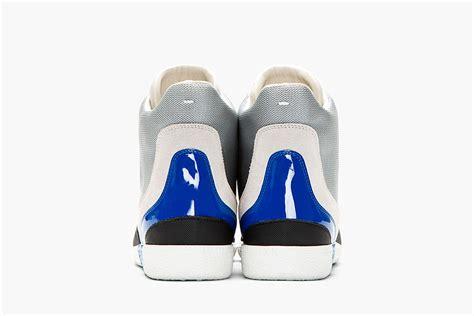 maison martin margiela mesh paneled sneakers fooyoh