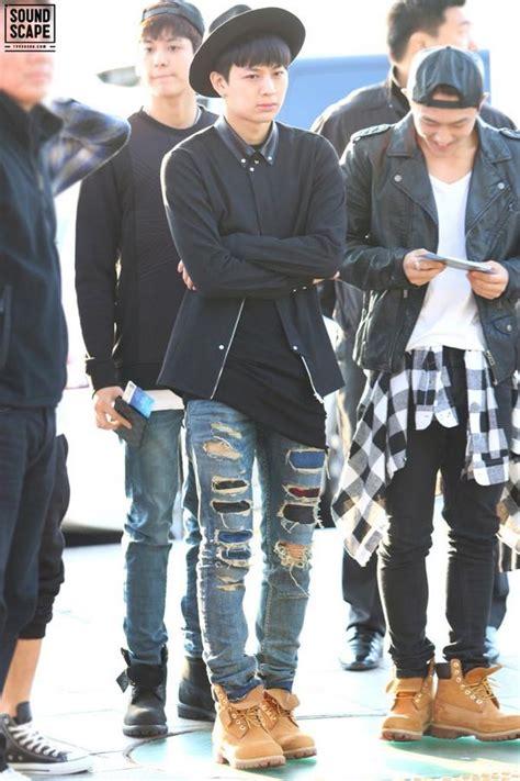 Boy fashion ikon korean kpop Airport Style - image #2885659 by Dian on Favim.com