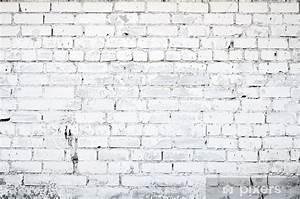 Mur Brique Blanc : sticker mur brique blanc pixers nous vivons pour changer ~ Mglfilm.com Idées de Décoration