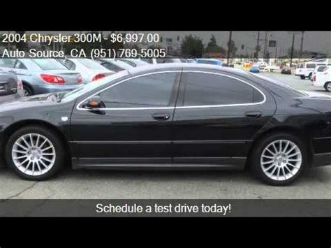 2004 Chrysler 300m Special by 2004 Chrysler 300m Special 4dr Sedan For Sale In Banning
