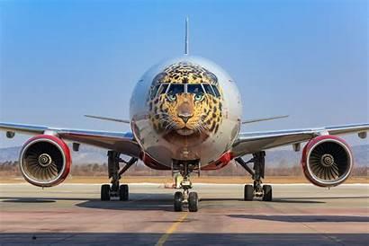 Rossiya 777 Boeing Ei Unp Leopard Livery