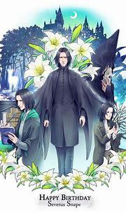 Happy Birthday, Severus Snape! January 9th, 1960 | Harry ...