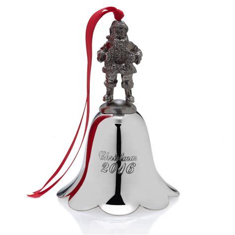 bell ornaments wallace santa bell 2016 ornament