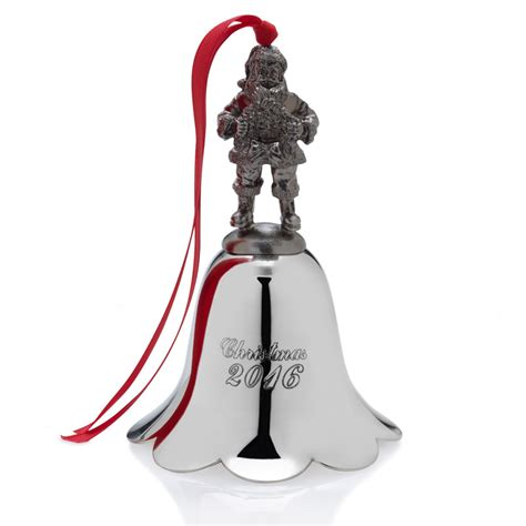wallace santa christmas bell 2016 christmas ornament