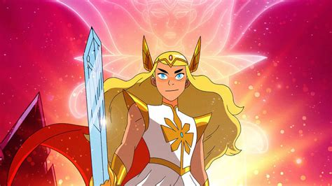 It's everyone's favorite chaotic neutral mad geek genius princess! Netflix debuts She-Ra Princesses of Power season 3 poster