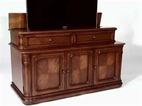 banyan creek tv lift cabinet banyan creek xl tv lift cabinet youtube