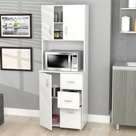 Inval Tall Kitchen Storage Cabinet  Walmartcom