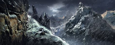 mountain pass by sabin boykinov on deviantart