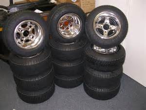 Custom Golf Cart Tires and Wheels