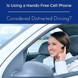 hands  cell phone considered distracted