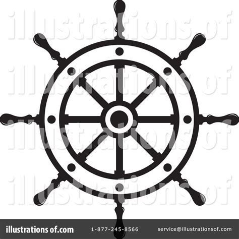 Boat Wheel Outline by Pirate Ship Wheel Clipart Clipart Suggest