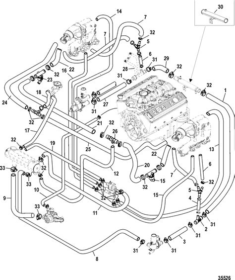 Mercruiser Thermostat Wiring Diagram by Mercruiser 5 0 Engine Diagram Thermostat