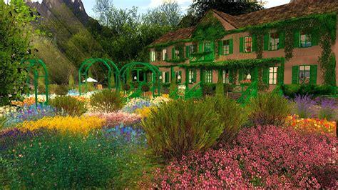 Giverny Monet Garten by Echt Virtuell Shaula Kingdom Haus Und Garten Claude