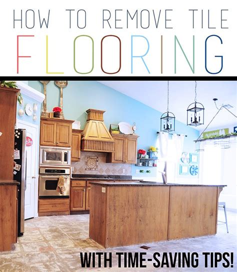 remove kitchen tiles how to remove tile flooring yourself with tips and tricks 1844