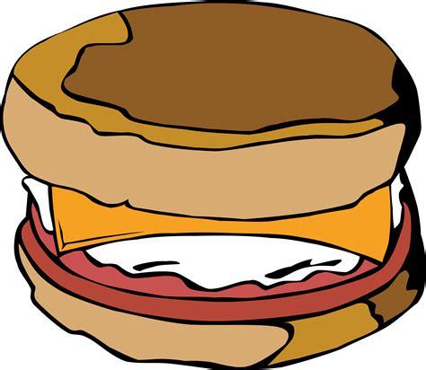Breakfast Clip Clipart Fast Food Breakfast Egg Muffin
