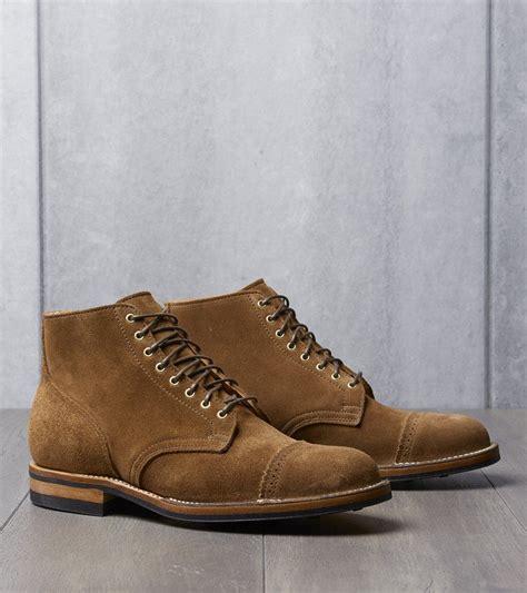 Service Boot - 2030 - Dainite - Snuff Calf Suede | Boots ...