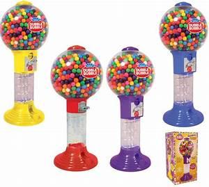 Buy Dubble Bubble Giant Spiral Gumball Bank w/Gumballs ...