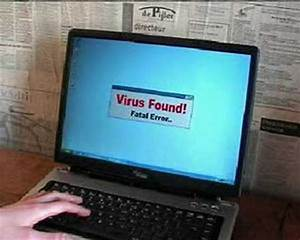 Computer Crash Virus YouTube