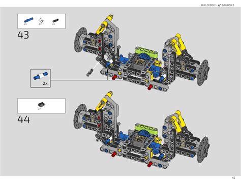 Explore engineering excellence with the lego technic 42083 bugatti chiron advanced building set. LEGO 42083 Bugatti Chiron Instructions, Technic