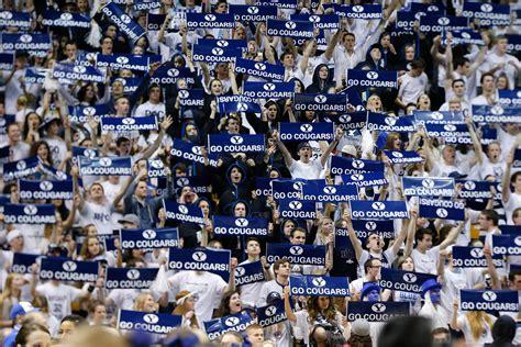 cougar fans  final push  vote byu    fan