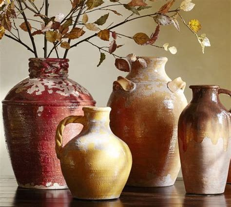 sicily vases pottery barn decor pottery barn