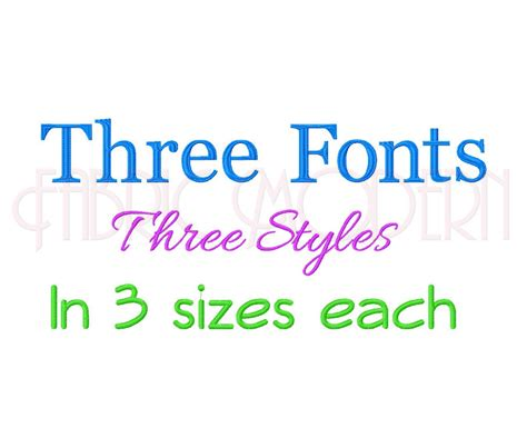 fonts bx embroidery font design  sizes