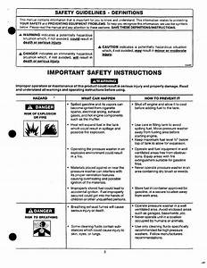 Important Safety Instructions  Awarning  Safety Guidelines