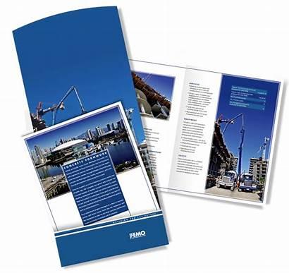 Femo Construction Brochure Ltd Branding Materials Marketing