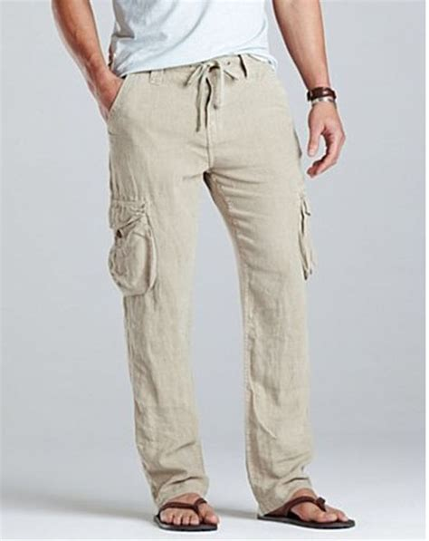 Men's Linen Pants on Pinterest   Men's Khaki Pants, Men's Beach Outfits and Bohemian Mens Fashion