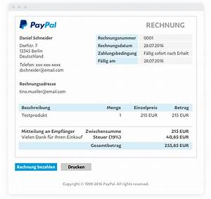 Rechnung Online Pay 24 : paypal e rechnung online rechnung paypal de ~ Themetempest.com Abrechnung
