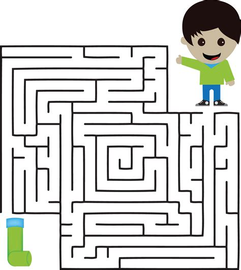 Beautiful Maze Game For Kid Educational Games And Activities Kids Learning About Asthma Free