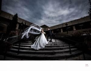 dramatic wedding photo at saint johns university long With dramatic wedding photography