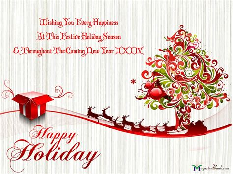 Happy Holiday Wishes Quotes Quotesgram