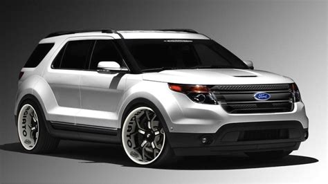 2018 Ford Explorer Redesign  Release Date Cars