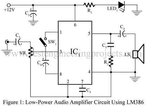 Low Power Audio Amplifier Using Best Engineering