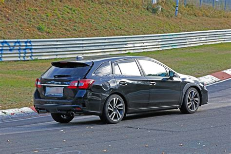 2020 Subaru Levorg Chassis Mule Spied Lapping The