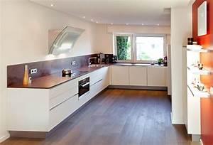 Küche Weiss Modern : u form moderne grifflose k che mit keramik arbeitsplatte k chenhaus thiemann overath vilkerath ~ Sanjose-hotels-ca.com Haus und Dekorationen