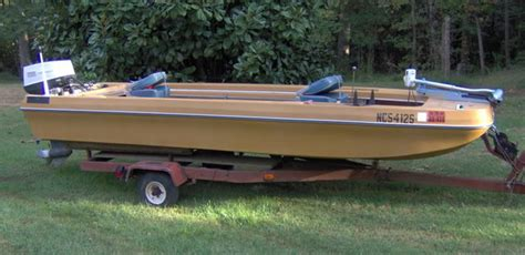 1973 Monark Fishing Boat by Terry Bass Delhi Mfg Co Boat Covers