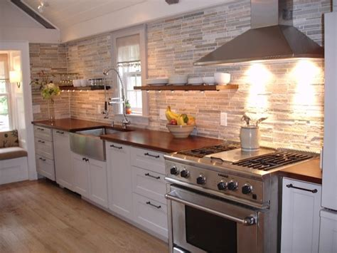 tile for kitchen floors pictures cozy kitchen gathering room with custom wood countertops 8489
