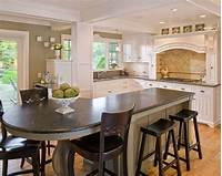 interesting circle kitchen plan Modern Round Kitchen Island Interesting Ideas - Interior ...