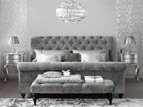 dove gray home decor velvet tufted grey bed sparkle silver