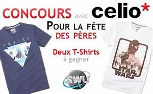 Tee Shirt Fete Des Peres : concours gagnez des t shirts avec celio star wars ~ Voncanada.com Idées de Décoration