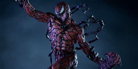 sideshows  carnage statue  scary realistic cbr