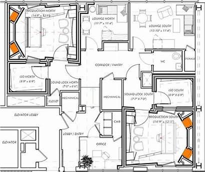Studio Floor Plans Studios Recording Layout Plan