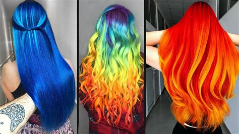 Top 10 Amazing Hair Color Transformation For Long Hair