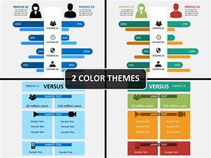powerpoint theme vs template - compare infographics powerpoint template sketchbubble