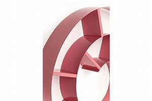 Etagere Murale Rouge : etag re murale escargot rouge etag re pas cher ~ Teatrodelosmanantiales.com Idées de Décoration