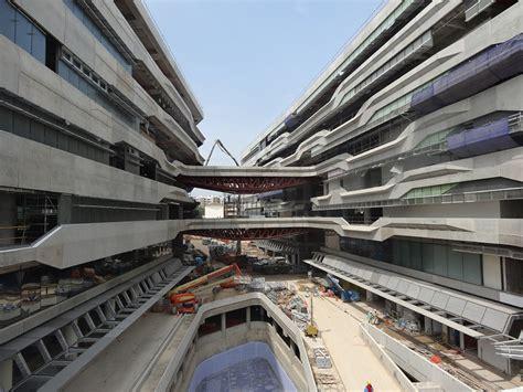 construction underway  singapore university campus